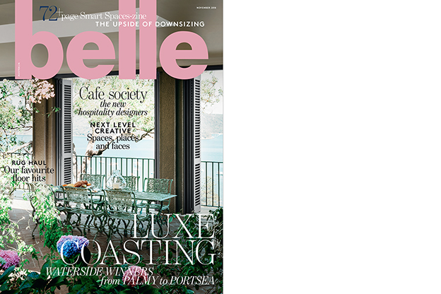 Belle November 2018, Luxe Coastal Homes - Alexandra Brownlow -coverthumb
