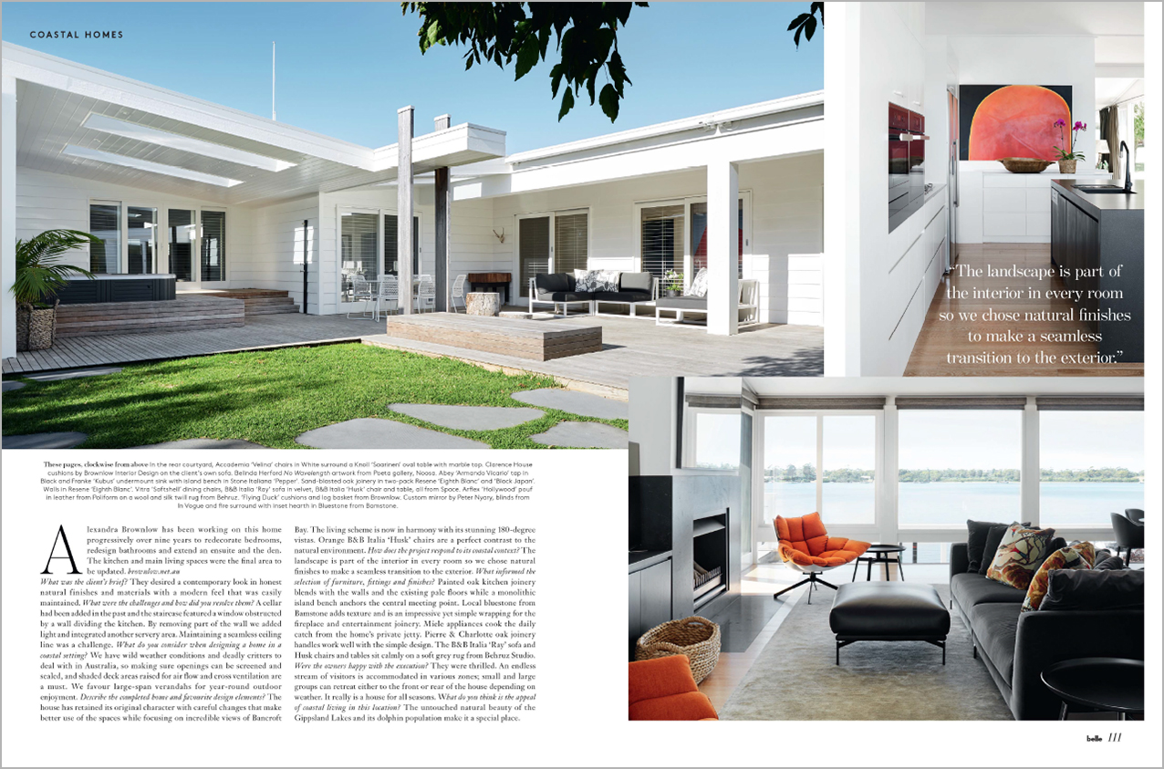 Belle November 2018, Luxe Coastal Homes - Alexandra Brownlow (1)-2