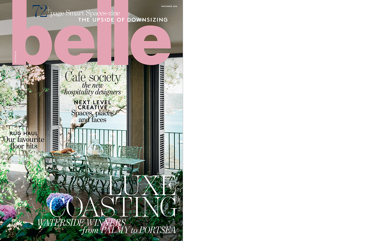 Belle November 2018, Luxe Coastal Homes - Alexandra Brownlow (1)-3cover